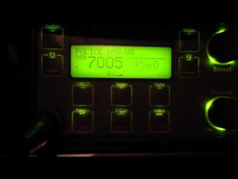 NSW Police, HF radio comms on 4560khz