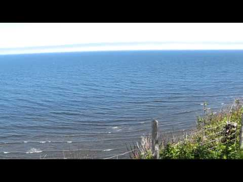 The View from Camping Griffon, Gaspe, Quebec