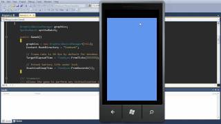 Windows Phone 7 XNA Game Tutorial - MangoLander