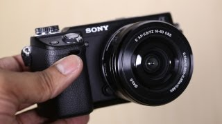 Sony Alpha NEX-6 Unboxing