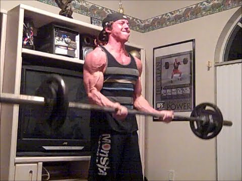 Post Powerlifting Meet Deadlift/Back/Biceps Workout Image 1