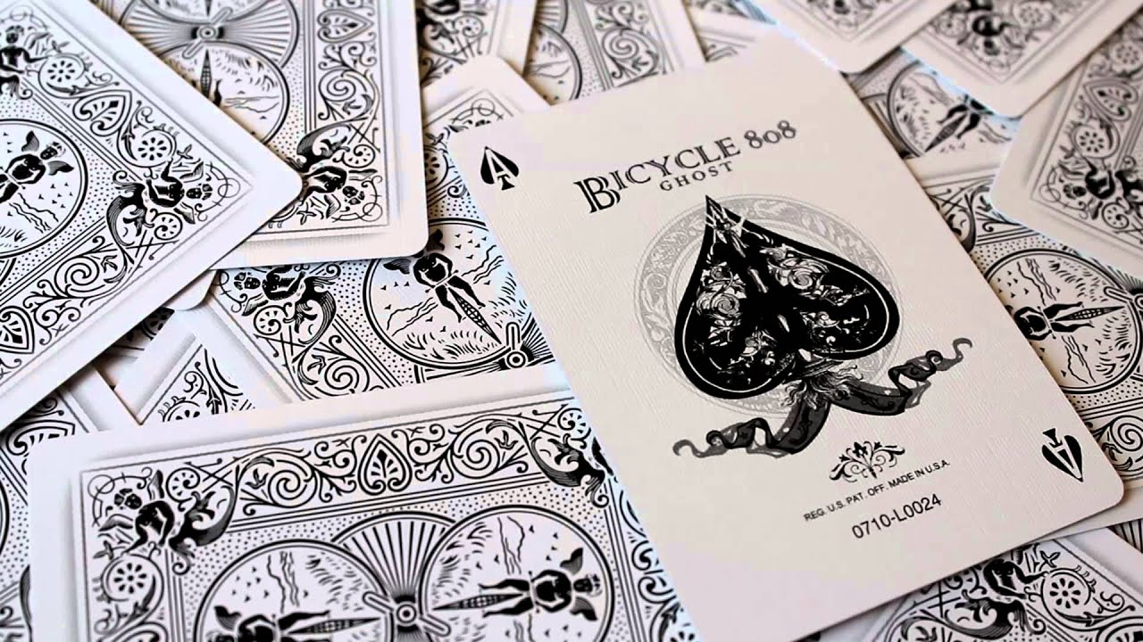 Bicycle Ghost Playing Cards - YouTube