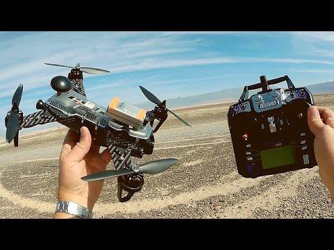Zendrone Blazer 250 Pro GPS FPV Racer Drone Flight Test Review