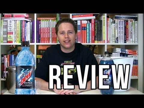 Mountain Dew Voltage Review (with Dark Berry Comparison) (Soda Tasting #20)