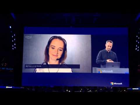Realtime English - German voice translation with Skype