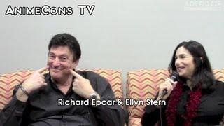 AnimeCons TV - Richard Epcar and Ellyn Stern