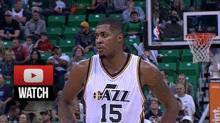 Derrick Favors Career-High Full Highlights vs Suns (2014.11.01) - 32 Pts, 9 Reb