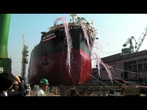 Ship Launched in Japan