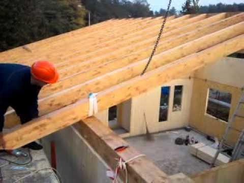Izrada krova na dvije vode
