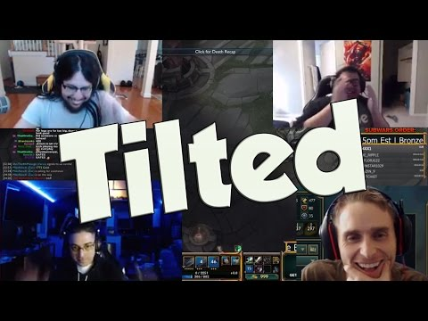 League of Legends Funny Stream Moments #11 - TILTED!