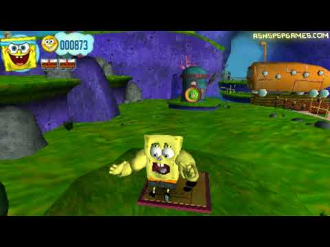 Spongebob's: Truth Or Square - PSP - #05. Becoming A FRY COOK! [1/2]
