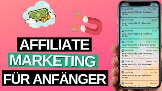 Affiliate Marketing für ANFÄNGER 2020! (Anleitung)
