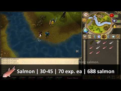 RuneScape F2P Fishing Guide 1-99 [HD]