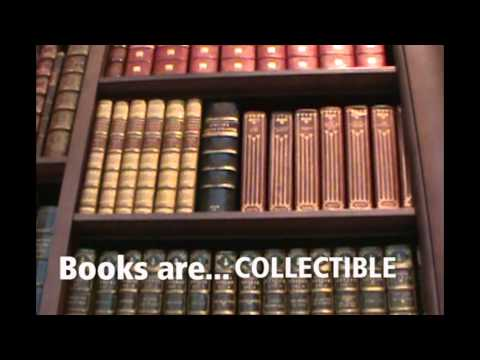 Here at AbeBooks - we love books. We have a passion for books and this video shows it. Created by Lindsay Thompson, an account manager in our Victoria office...