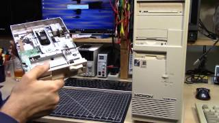 """Finding and installing a 5.25"""" floppy into a PC (MSI Case bonus)"""