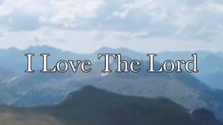 I LOVE THE LORD Whitney Houston (feat.The Georgia Mass Choir)