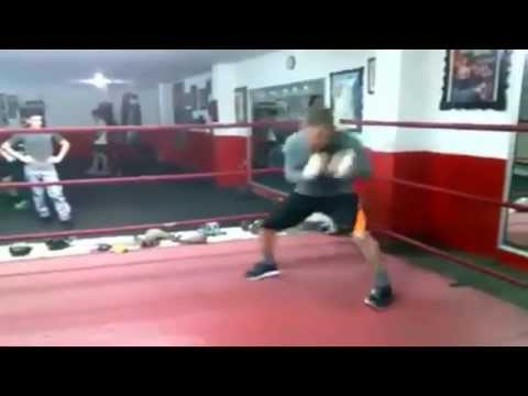 Julio Cesar Chavez Sr at 52 Years training for his upcoming exhibition Bout
