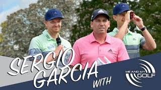 On Course LESSON With SERGIO GARCIA   Me and My Golf