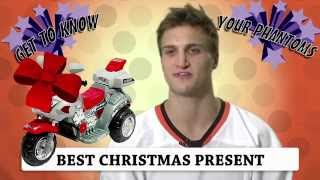 Get to Know Your Phantoms: Favorite/Least Favorite X-mas Gift