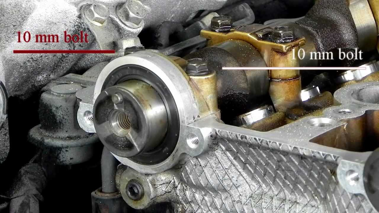 Episode 5 Removing Camshaft Front Cap And Seal Youtube
