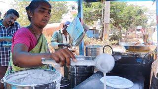 Cheapest Roadside Unlimited Tiffins | Indian Street Food | #StreetFood | Foodcrafts