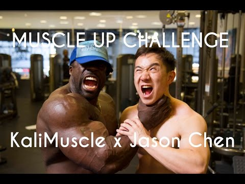 Muscle-Up Challenge ft. KaliMuscle!
