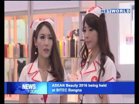 ASEAN Beauty 2016 being held at BITEC Bangna