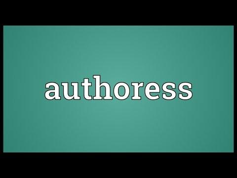 Header of authoress