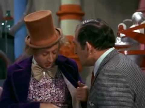Willy Wonka And The Chocolate Factory Violet Beauregarde video