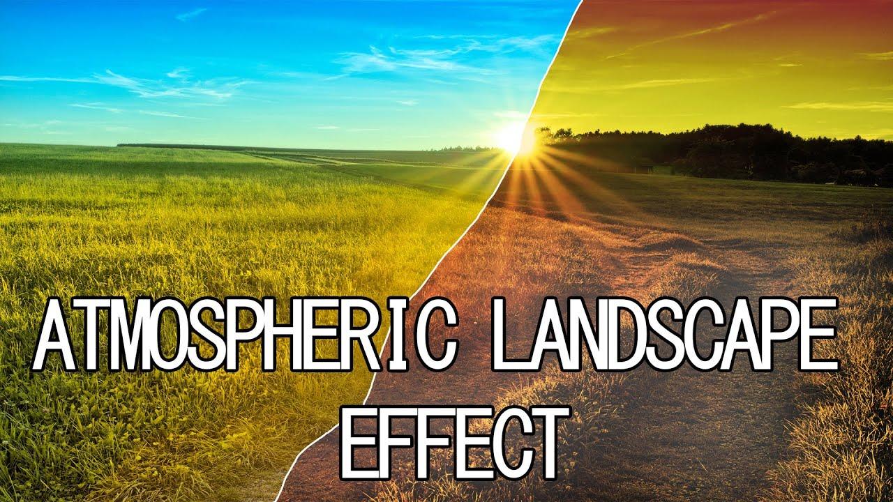 Landscape Photoshop Tutorials Landscape Effect Tutorial