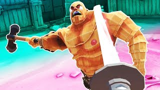 Slicing Up Gladiators with the Magic Longsword! Mods! - Gorn Gameplay - VR HTC Vive Pro