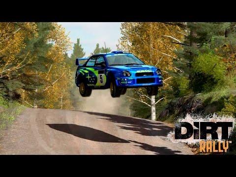 Финал Финляндии на летающей Subaru Impreza 2001| Прохождение Dirt Rally