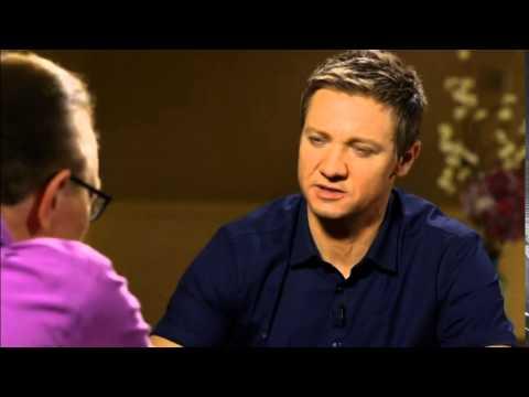 Jeremy Renner on Hawkeye in Avengers 2