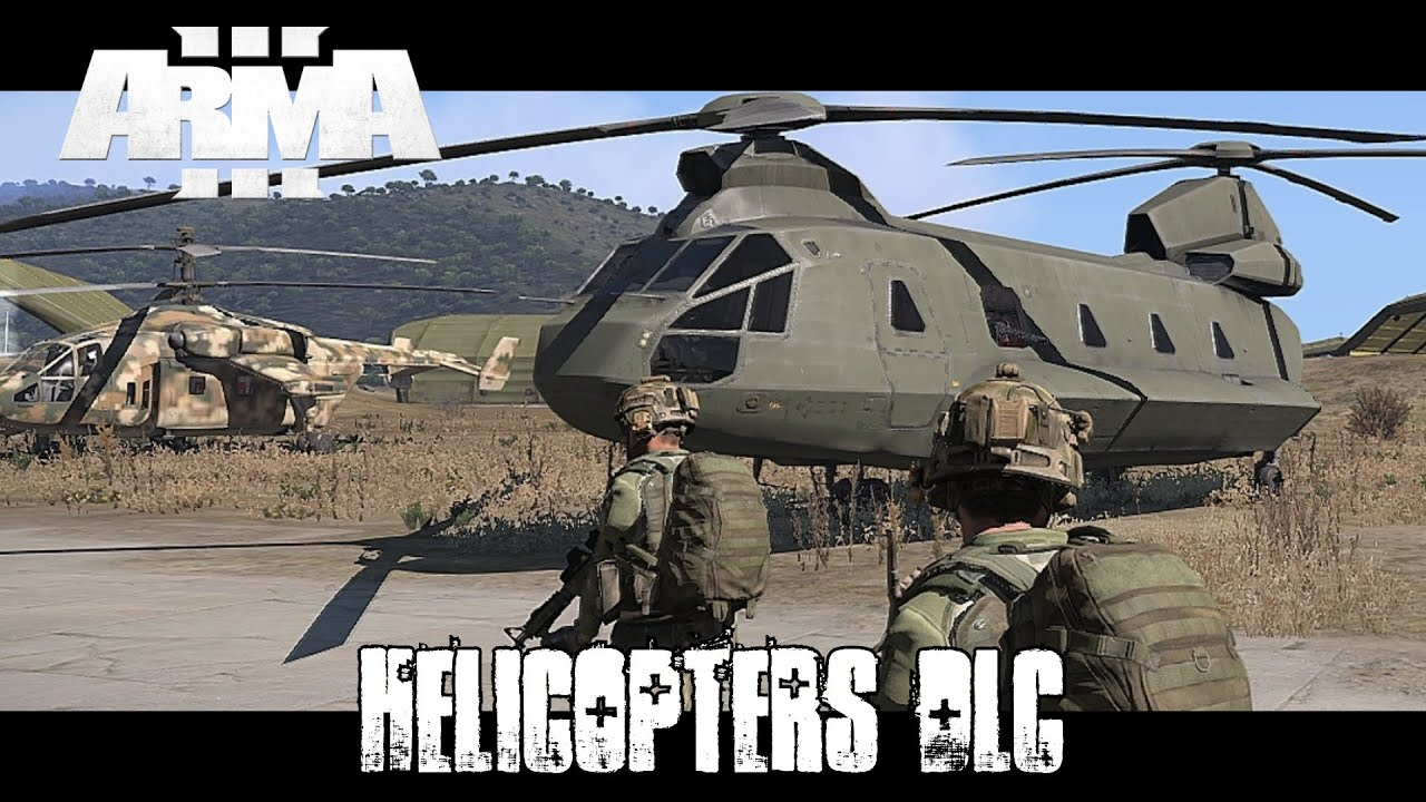 Arma 3 Elicottero : Arma helicopter dlc overview youtube