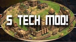 Age of Empires 2 HD 5 Tech Mod AoE2HD Gameplay PT BR