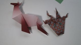 Reindeer 25 Days Of Origami Day 21