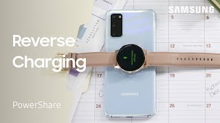 01. Samsung wireless PowerShare: Charge other devices with your phone | Samsung US