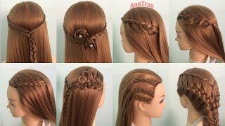 7 ngày 7 kiểu tóc đẹp đi học đi chơi P1 || AnaTran tết tóc