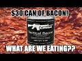 $30 Can of Tactical BACON (Tac-Bac) - WHAT ARE WE EATING?? - The Wolfe Pit