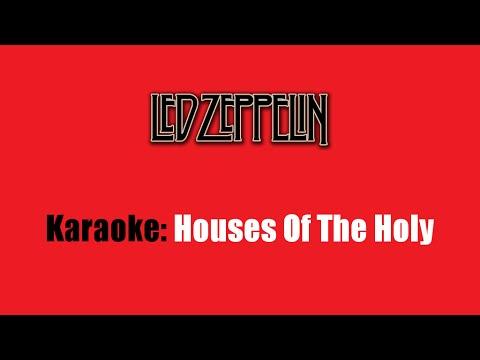 Karaoke: Led Zeppelin / Houses Of The Holy