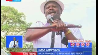 NASA leaders ask Narok residents to vote out the ruling Jubilee government