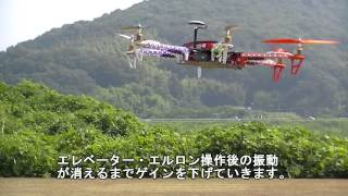 NAZA-M Lite + S-606 Test Flight
