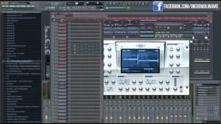 FL Studio Remake: Afrojack - Unstoppable (DiegoMolinams) + FLP