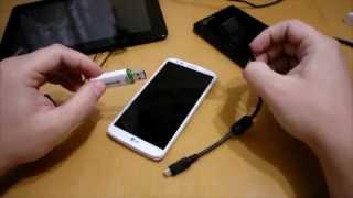Как подключить флешку к планшету или смартфону (Android)