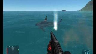 Crysis Scary Shark!!!