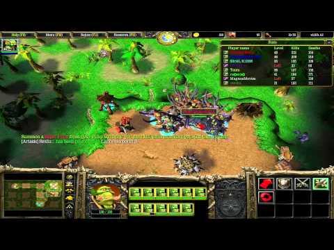 Warcraft III Pimp My Peon - Gameplay PL
