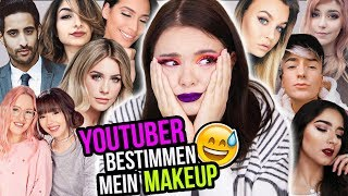 YOUTUBER suchen mein MAKEUP aus... 😳 - Youtubers Pick My Makeup - Alycia Marie