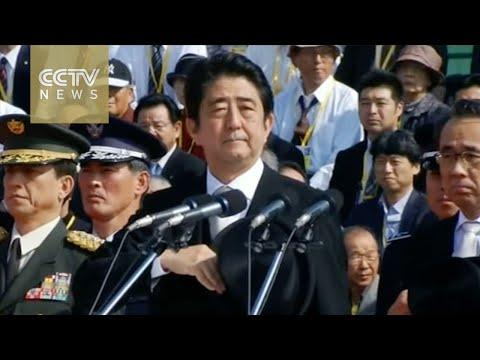 Japanese Prime Minister Shinzo Abe visits U.S.