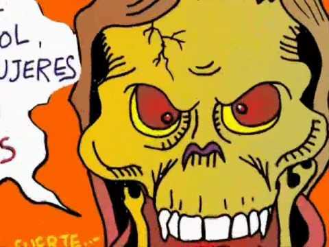 Caricatura Politica Calavera Motin en cd Juarez Corrupcion y Muerte Caricatura Soto