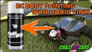 RC Buggy body Fulldip - Painted with Liquid Vinyl